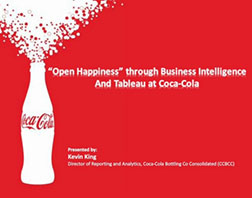 "Coca Cola ""Open Happiness"""