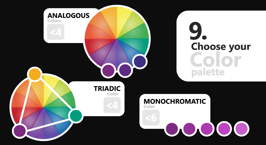 microsoft power bi 9 choose color palette