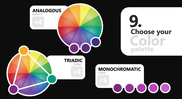 microsoft power bi 9 choose color palette