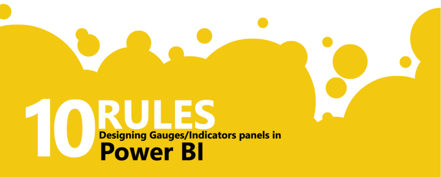 Power BI 10 règles d'or des tableaux de bords sexy