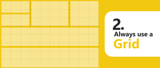 power bi rules 2 always use grid data discovery design